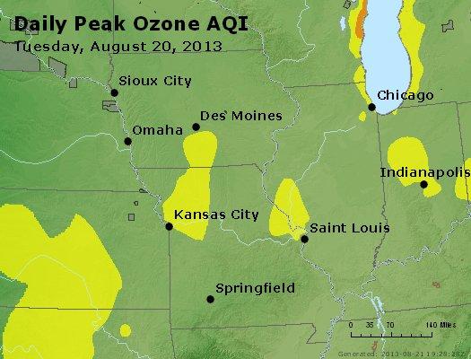 Peak Ozone (8-hour) - http://files.airnowtech.org/airnow/2013/20130820/peak_o3_ia_il_mo.jpg