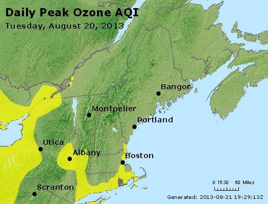 Peak Ozone (8-hour) - http://files.airnowtech.org/airnow/2013/20130820/peak_o3_vt_nh_ma_ct_ri_me.jpg