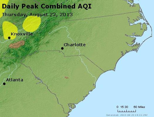 Peak AQI - http://files.airnowtech.org/airnow/2013/20130822/peak_aqi_nc_sc.jpg