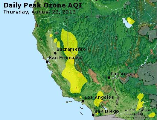 Peak Ozone (8-hour) - http://files.airnowtech.org/airnow/2013/20130822/peak_o3_ca_nv.jpg