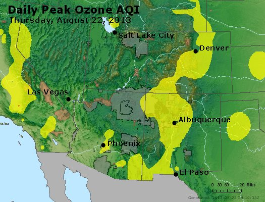 Peak Ozone (8-hour) - http://files.airnowtech.org/airnow/2013/20130822/peak_o3_co_ut_az_nm.jpg