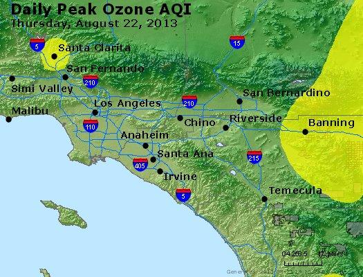 Peak Ozone (8-hour) - http://files.airnowtech.org/airnow/2013/20130822/peak_o3_losangeles_ca.jpg