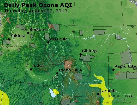 Peak Ozone (8-hour) - http://files.airnowtech.org/airnow/2013/20130822/peak_o3_mt_id_wy.jpg