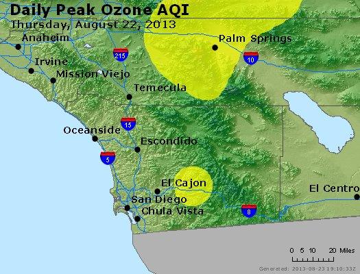 Peak Ozone (8-hour) - http://files.airnowtech.org/airnow/2013/20130822/peak_o3_sandiego_ca.jpg