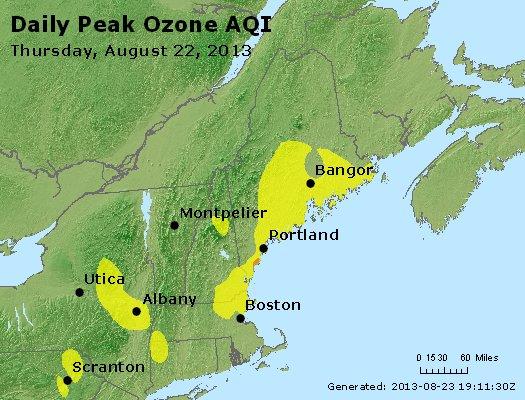 Peak Ozone (8-hour) - http://files.airnowtech.org/airnow/2013/20130822/peak_o3_vt_nh_ma_ct_ri_me.jpg