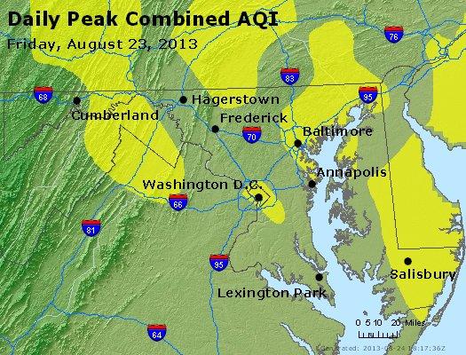 Peak AQI - http://files.airnowtech.org/airnow/2013/20130823/peak_aqi_maryland.jpg