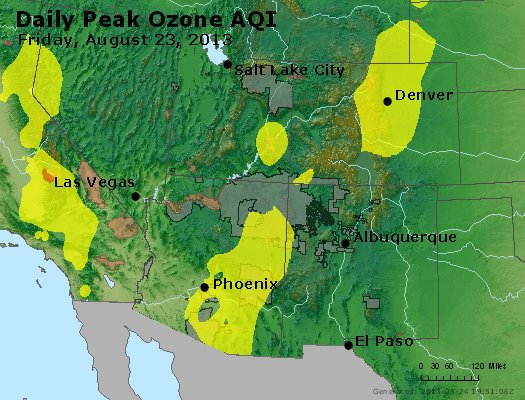 Peak Ozone (8-hour) - http://files.airnowtech.org/airnow/2013/20130823/peak_o3_co_ut_az_nm.jpg
