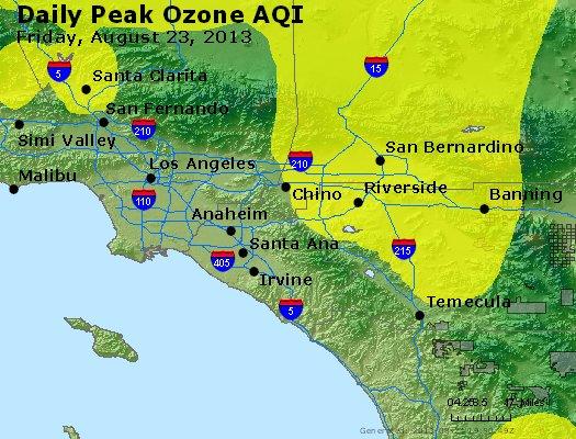 Peak Ozone (8-hour) - http://files.airnowtech.org/airnow/2013/20130823/peak_o3_losangeles_ca.jpg