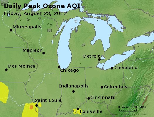 Peak Ozone (8-hour) - http://files.airnowtech.org/airnow/2013/20130823/peak_o3_mi_in_oh.jpg