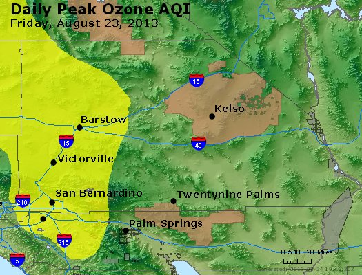 Peak Ozone (8-hour) - http://files.airnowtech.org/airnow/2013/20130823/peak_o3_sanbernardino_ca.jpg