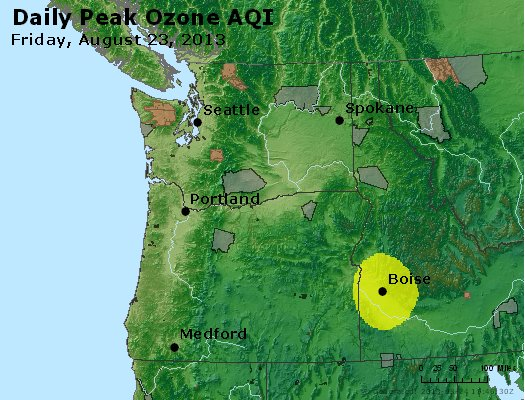 Peak Ozone (8-hour) - http://files.airnowtech.org/airnow/2013/20130823/peak_o3_wa_or.jpg