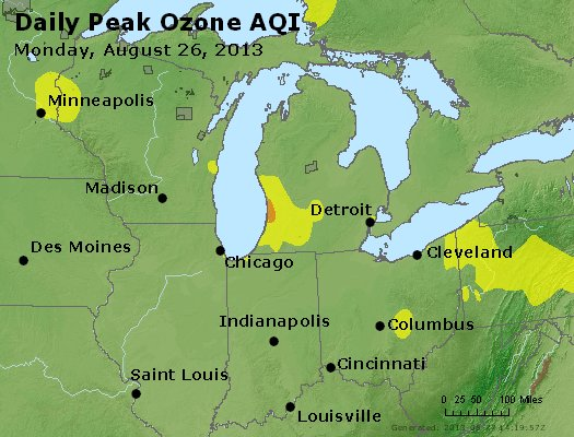Peak Ozone (8-hour) - http://files.airnowtech.org/airnow/2013/20130826/peak_o3_mi_in_oh.jpg
