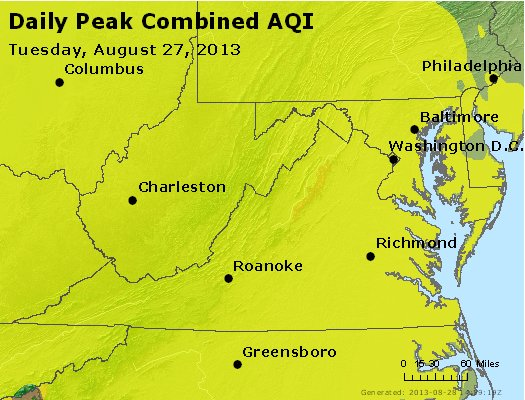Peak AQI - http://files.airnowtech.org/airnow/2013/20130827/peak_aqi_va_wv_md_de_dc.jpg