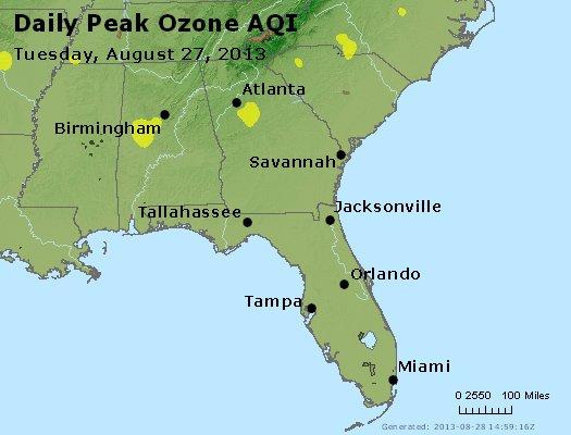 Peak Ozone (8-hour) - http://files.airnowtech.org/airnow/2013/20130827/peak_o3_al_ga_fl.jpg