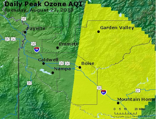 Peak Ozone (8-hour) - http://files.airnowtech.org/airnow/2013/20130827/peak_o3_boise_id.jpg