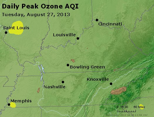 Peak Ozone (8-hour) - http://files.airnowtech.org/airnow/2013/20130827/peak_o3_ky_tn.jpg