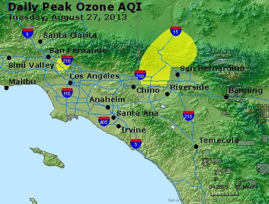 Peak Ozone (8-hour) - http://files.airnowtech.org/airnow/2013/20130827/peak_o3_losangeles_ca.jpg