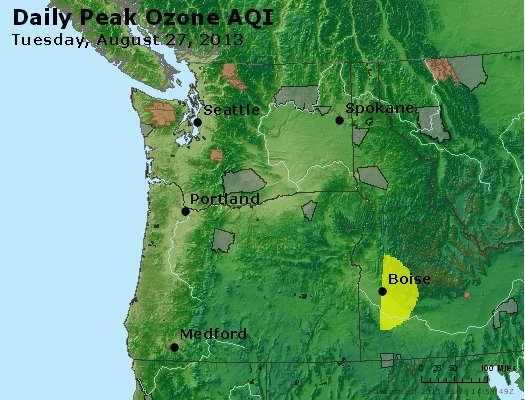 Peak Ozone (8-hour) - http://files.airnowtech.org/airnow/2013/20130827/peak_o3_wa_or.jpg