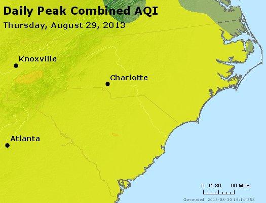 Peak AQI - http://files.airnowtech.org/airnow/2013/20130829/peak_aqi_nc_sc.jpg