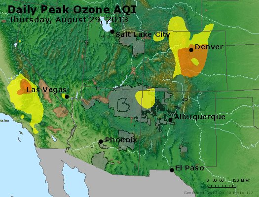 Peak Ozone (8-hour) - http://files.airnowtech.org/airnow/2013/20130829/peak_o3_co_ut_az_nm.jpg