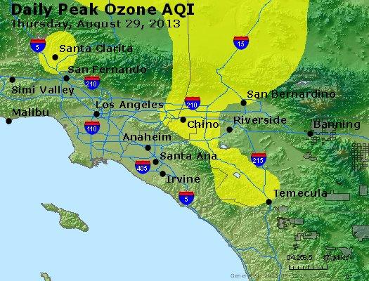 Peak Ozone (8-hour) - http://files.airnowtech.org/airnow/2013/20130829/peak_o3_losangeles_ca.jpg