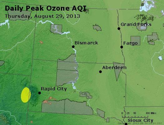 Peak Ozone (8-hour) - http://files.airnowtech.org/airnow/2013/20130829/peak_o3_nd_sd.jpg