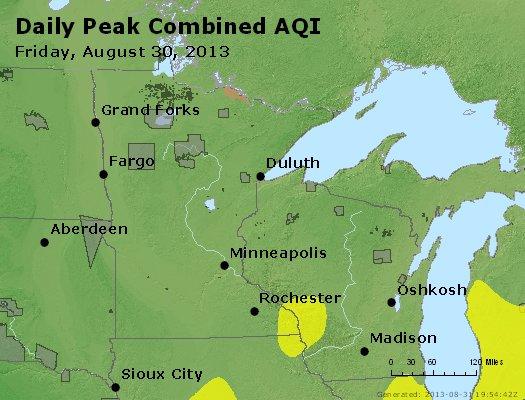 Peak AQI - http://files.airnowtech.org/airnow/2013/20130830/peak_aqi_mn_wi.jpg