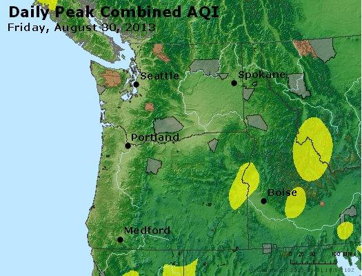 Peak AQI - http://files.airnowtech.org/airnow/2013/20130830/peak_aqi_wa_or.jpg