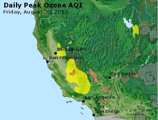 Peak Ozone (8-hour) - http://files.airnowtech.org/airnow/2013/20130830/peak_o3_ca_nv.jpg