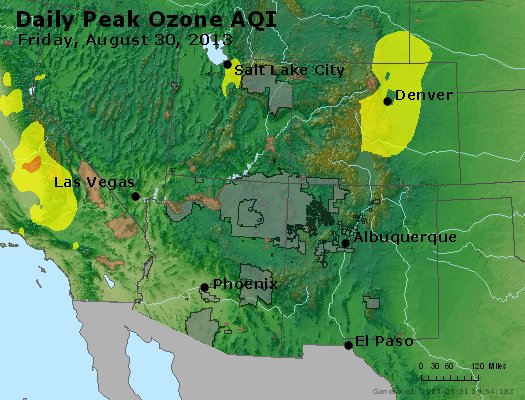 Peak Ozone (8-hour) - http://files.airnowtech.org/airnow/2013/20130830/peak_o3_co_ut_az_nm.jpg