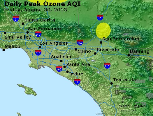 Peak Ozone (8-hour) - http://files.airnowtech.org/airnow/2013/20130830/peak_o3_losangeles_ca.jpg