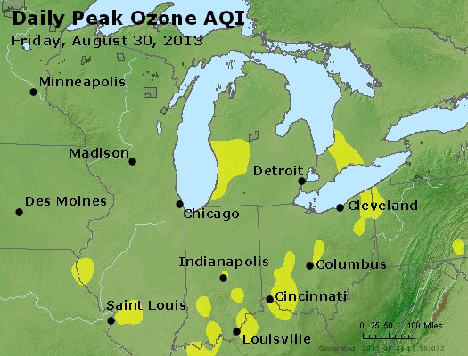 Peak Ozone (8-hour) - http://files.airnowtech.org/airnow/2013/20130830/peak_o3_mi_in_oh.jpg