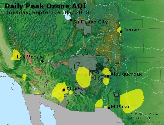 Peak Ozone (8-hour) - http://files.airnowtech.org/airnow/2013/20130903/peak_o3_co_ut_az_nm.jpg