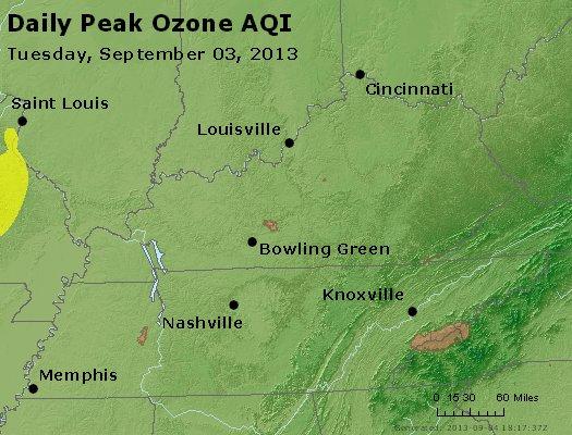 Peak Ozone (8-hour) - http://files.airnowtech.org/airnow/2013/20130903/peak_o3_ky_tn.jpg