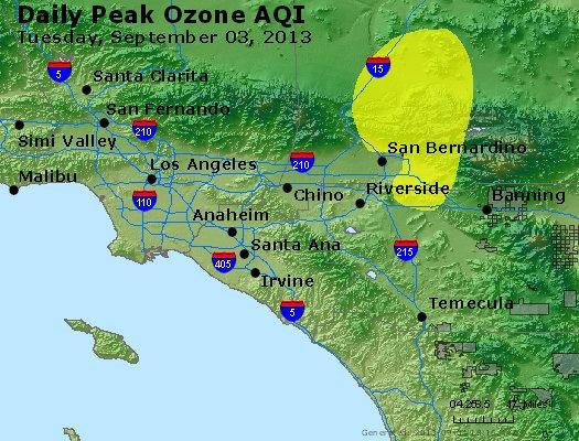 Peak Ozone (8-hour) - http://files.airnowtech.org/airnow/2013/20130903/peak_o3_losangeles_ca.jpg