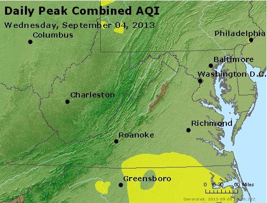 Peak AQI - http://files.airnowtech.org/airnow/2013/20130904/peak_aqi_va_wv_md_de_dc.jpg