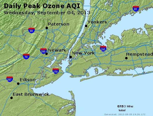 Peak Ozone (8-hour) - http://files.airnowtech.org/airnow/2013/20130904/peak_o3_newyork_ny.jpg