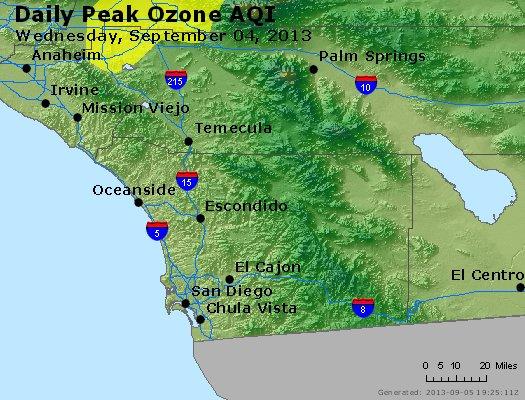 Peak Ozone (8-hour) - http://files.airnowtech.org/airnow/2013/20130904/peak_o3_sandiego_ca.jpg