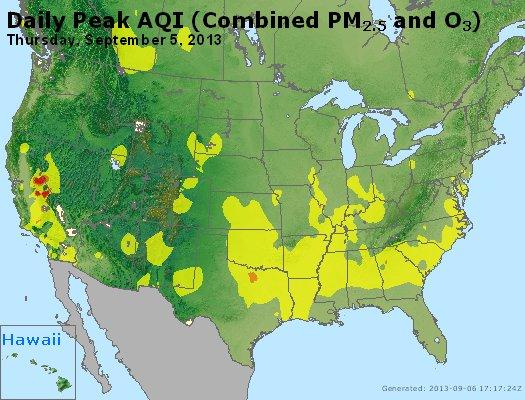 Peak AQI - http://files.airnowtech.org/airnow/2013/20130905/peak_aqi_usa.jpg
