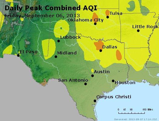 Peak AQI - http://files.airnowtech.org/airnow/2013/20130906/peak_aqi_tx_ok.jpg