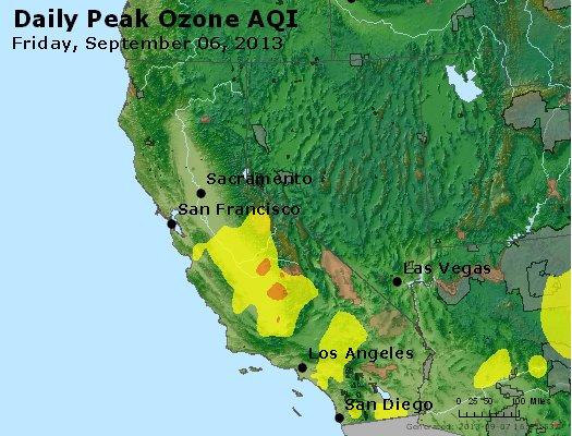 Peak Ozone (8-hour) - http://files.airnowtech.org/airnow/2013/20130906/peak_o3_ca_nv.jpg