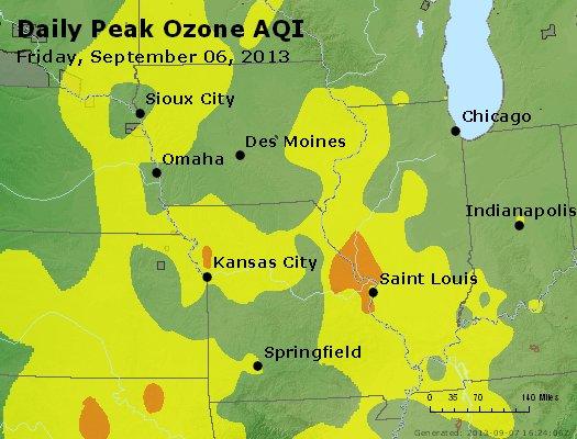 Peak Ozone (8-hour) - http://files.airnowtech.org/airnow/2013/20130906/peak_o3_ia_il_mo.jpg