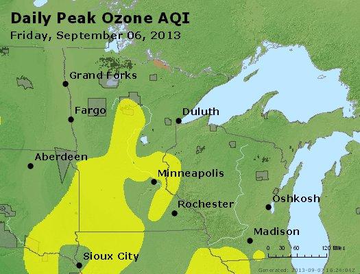 Peak Ozone (8-hour) - http://files.airnowtech.org/airnow/2013/20130906/peak_o3_mn_wi.jpg