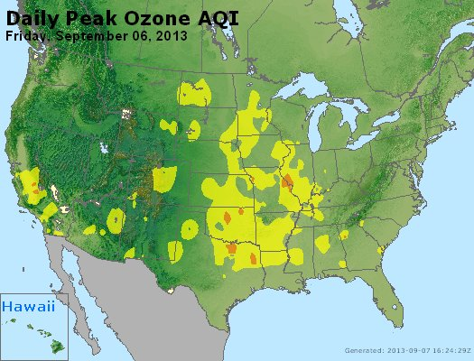 Peak Ozone (8-hour) - http://files.airnowtech.org/airnow/2013/20130906/peak_o3_usa.jpg