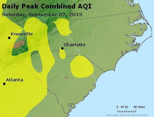 Peak AQI - http://files.airnowtech.org/airnow/2013/20130907/peak_aqi_nc_sc.jpg