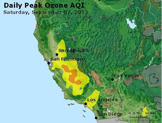Peak Ozone (8-hour) - http://files.airnowtech.org/airnow/2013/20130907/peak_o3_ca_nv.jpg