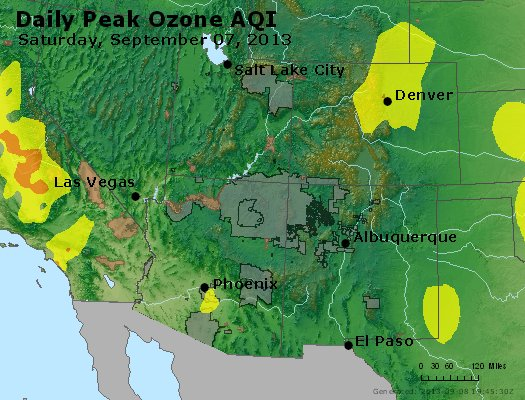 Peak Ozone (8-hour) - http://files.airnowtech.org/airnow/2013/20130907/peak_o3_co_ut_az_nm.jpg