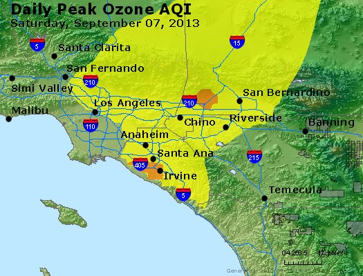 Peak Ozone (8-hour) - http://files.airnowtech.org/airnow/2013/20130907/peak_o3_losangeles_ca.jpg