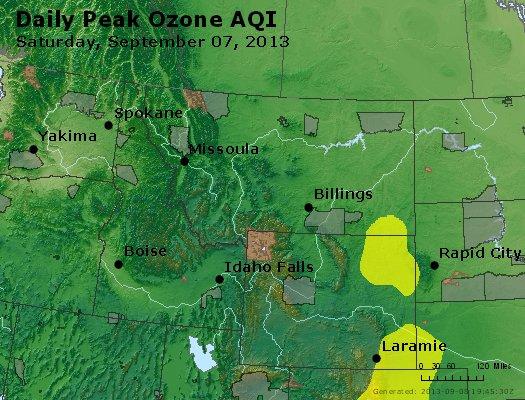 Peak Ozone (8-hour) - http://files.airnowtech.org/airnow/2013/20130907/peak_o3_mt_id_wy.jpg