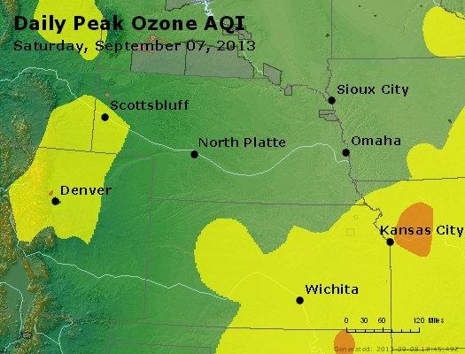 Peak Ozone (8-hour) - http://files.airnowtech.org/airnow/2013/20130907/peak_o3_ne_ks.jpg
